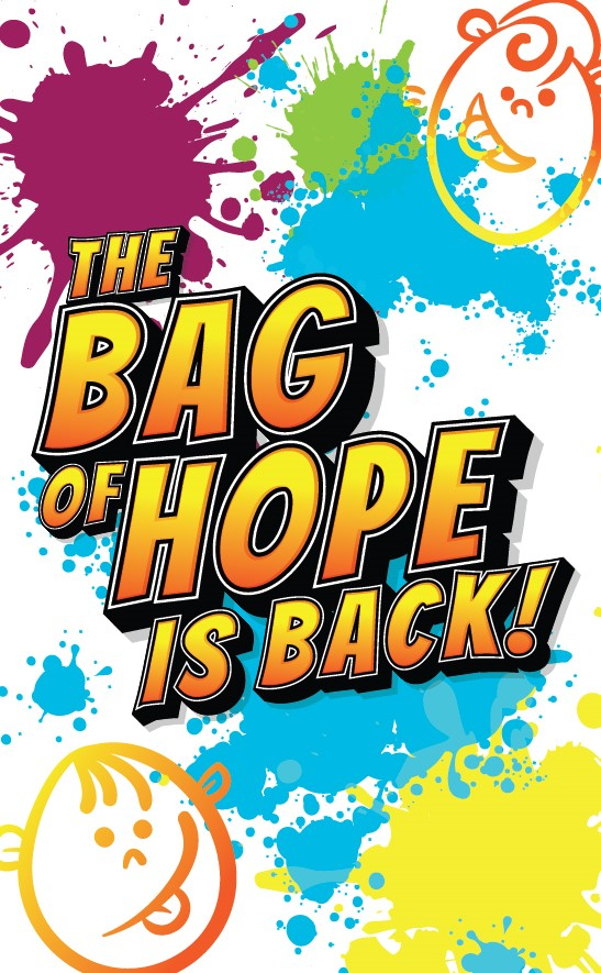 The Bag of Hope for children is back and available to order now.