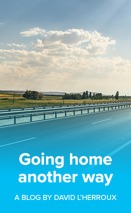 Going home another way - David's blog