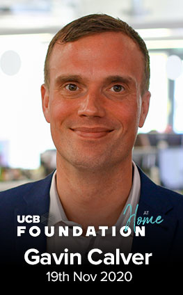 UCB Foundation at Home with Gavin Calver