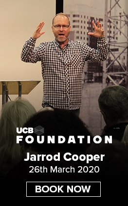 Jarrod Cooper 26th March 2020 - Book Now