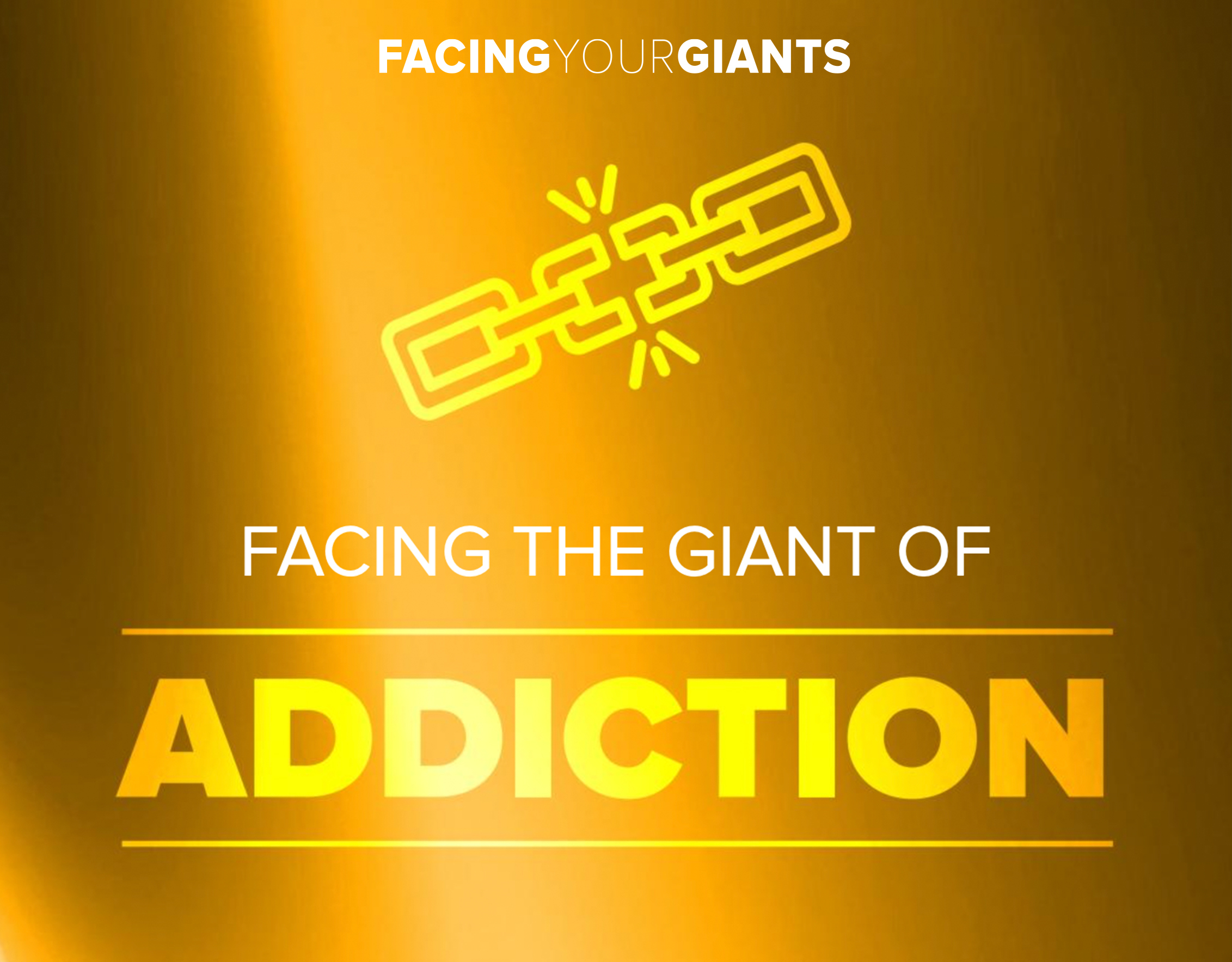 Facing your giant of addiction