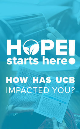 Hope starts here! How has UCB Impacted you?