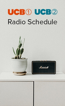 UCB 1 and UCB 2 Radio Schedule
