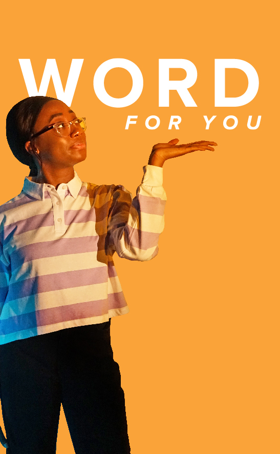 Read Word For You, a devotional for young adults