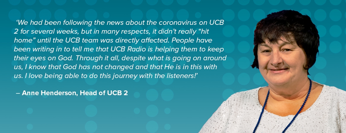 Testimony from Head of UCB2  Anne Henderson