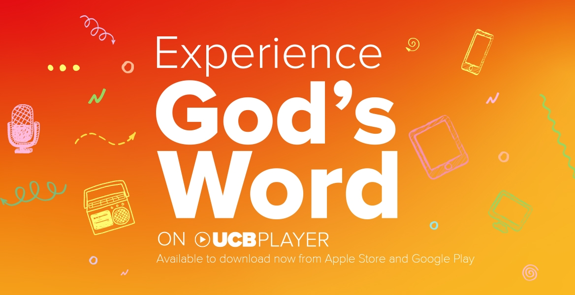 Experience God's word with UCB Player