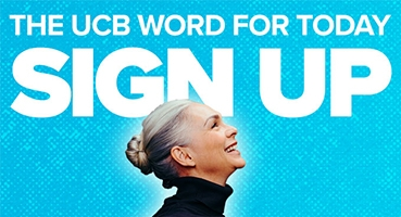 The UCB Word for Today Sign up