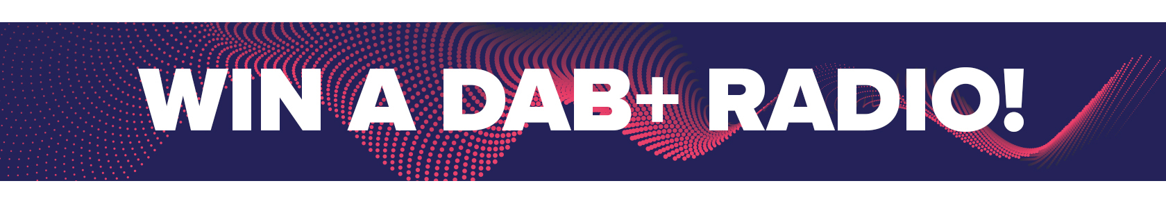 Win a DAB+ radio!