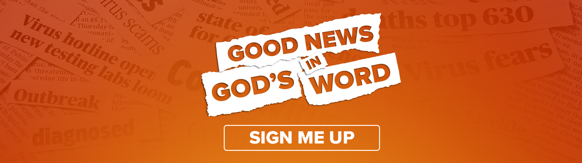 Good News in God's word - Sign me up