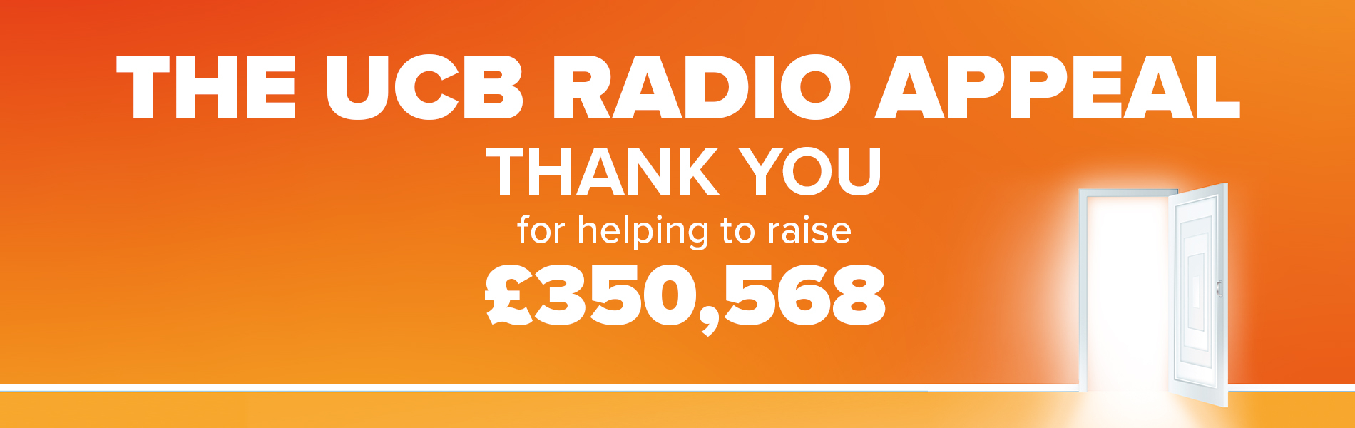 The UCB Appeal - Thank you for helping to raise £350,568