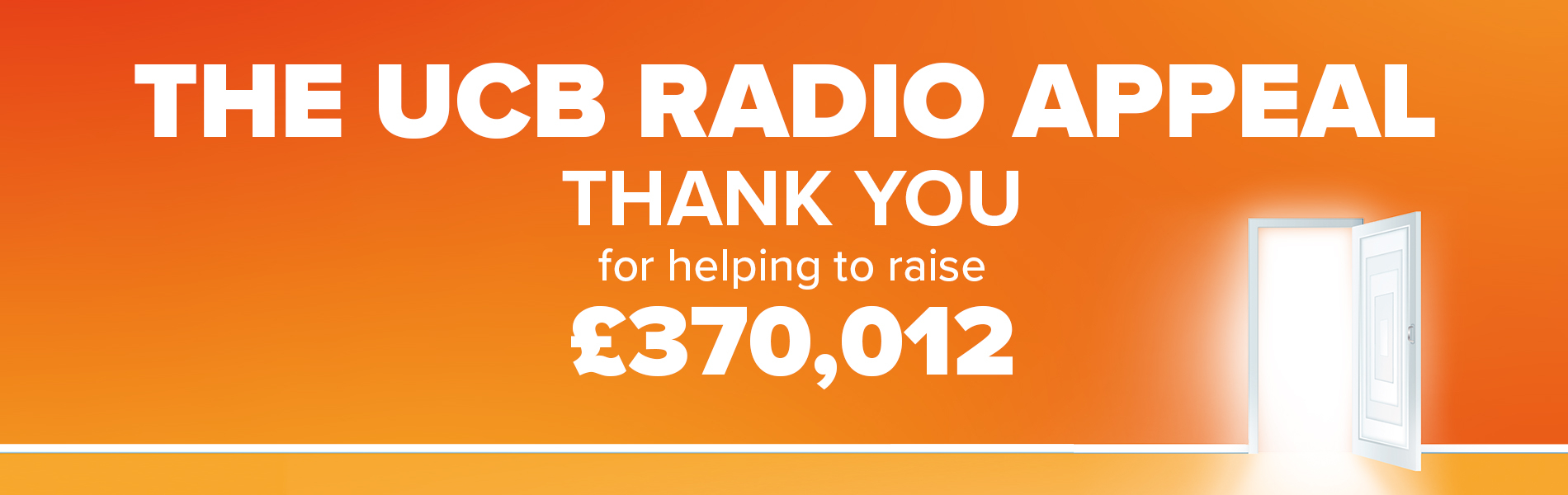 The UCB Appeal - Thank you for helping to raise £370,000
