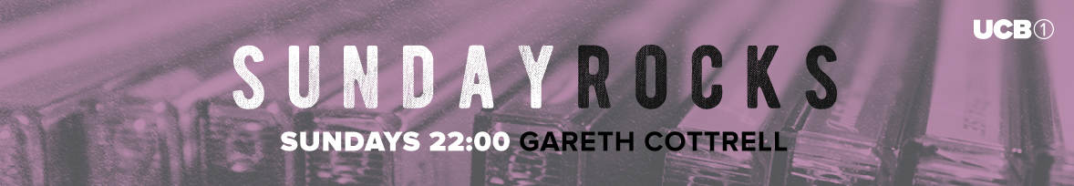 Sundays 22:00 with Gareth Cottrell