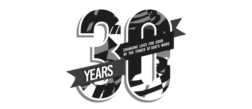30 years of ministry logo