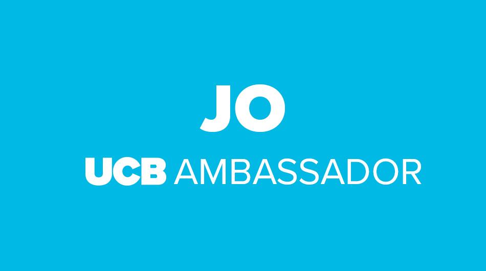 Jo UCB Ambassador