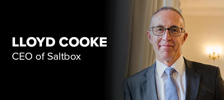 Lloyd Cooke CEO of Saltbox