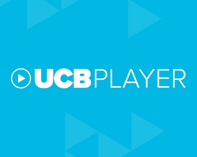 UCB Player graphic logo block